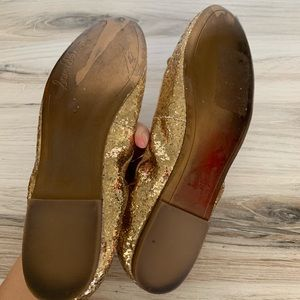 Sam Edelman Shoes - Sam Edelman Felicia Gold Glitter Flats